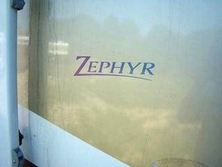 2000 ALLEGRO ZEPHYR MOTORHOME PARTS - RV SALVAGE PARTS FOR SALE