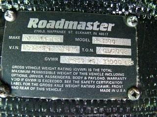 MONACO MOTORHOME PARTS 2002 MONACO WINDSOR RV SALVAGE PARTS AT VISONE
