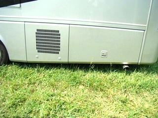 2004 HOILDAY RAMBLER ENDEAVOR FIBERGLASS REAR CAP FOR SALE - MOTORHOME DISMANTLER