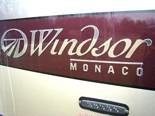 2002 MONACO WINDSOR MOTORHOME PARTS FOR SALE - USED RV SALVAGE