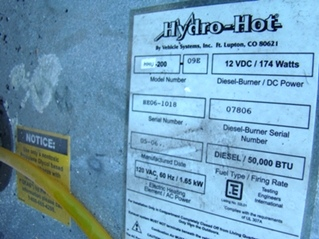 2005 ALFA GOLD MOTORHOME RV PARTS FOR SALE