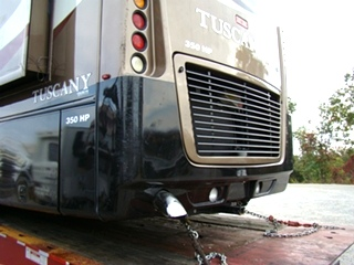 DAMON RV PARTS 2007 TUSCANY MOTORHOME SALVAGE VISONE RV