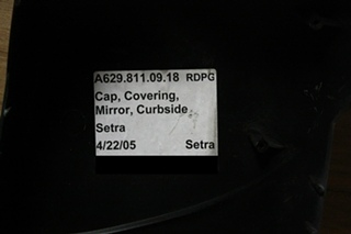 Setra Bus S 417 TOP CLASS Curbside Cap Mirror Covering For Sale