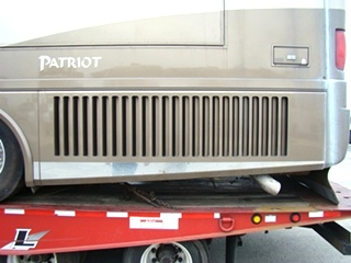 PARTS FOR A 2002 BEAVER PATRIOT THUNDER MOTORHOME FOR SALE VISONE RV SALVAGE