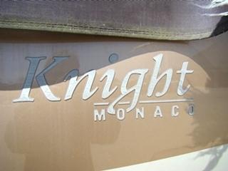 PARTS FOR SALE 2006 MONACO KNIGHT