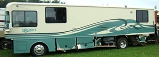 1997 FLEETWOOD DISCOVERY USED RV SALVAGE PARTS FOR SALE - VISONE RV