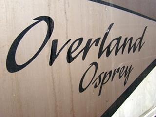 2000 OVERLAND OSPREY RV PARTS FOR SALE